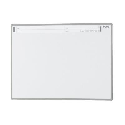PLUS(プラス)オフィス家具 パシャボ 壁掛けホワイトボード スチール〈壁掛け〉タイプ W(幅)1200 D(奥行き)20 H(高さ)900