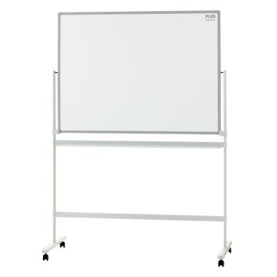 PLUS(プラス)オフィス家具 パシャボ 脚付ホワイトボード ホーロー〈脚付〉片面タイプ W(幅)1280 D(奥行き)610 H(高さ)1800