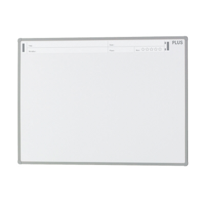 PLUS(プラス)オフィス家具 パシャボ 壁掛けホワイトボード ホーロー〈壁掛け〉タイプ W(幅)1200 D(奥行き)20 H(高さ)900