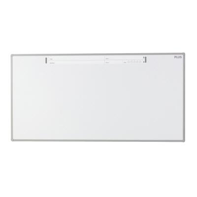PLUS(プラス)オフィス家具 パシャボ 壁掛けホワイトボード ホーロー〈壁掛け〉タイプ W(幅)1800 D(奥行き)20 H(高さ)900