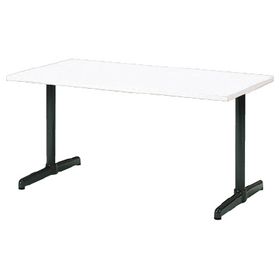 PLUS(プラス)会議テーブル/ミーティングテーブル/LM TABLE・LM 会議テーブル LM-158TR W4/DGY