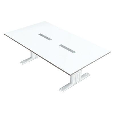 PLUS(プラス)会議テーブル/会議用大型テーブル/XF TYPE-L・XF TYPE-L 会議テーブル XL-2412KG W4/W4