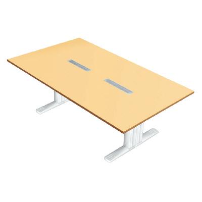 PLUS(プラス)会議テーブル/会議用大型テーブル/XF TYPE-L・XF TYPE-L 会議テーブル XL-2412KG WM/W4