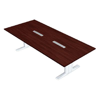 大きな割引 PLUS(プラス)会議テーブル/会議用大型テーブル/XF TYPE-L・XF TYPE-L 会議テーブル XL-2812KG MH/W4, ワンダーアイズ 5a3f70d5