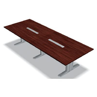 PLUS(プラス)会議テーブル/会議用大型テーブル/XF TYPE-L・XF TYPE-L 会議テーブル XL-3212KG MH/M4