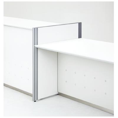PLUS(プラス)オフィス家具 EK COUNTER サイドパネル ハイ・ローカウンター用ジョイントパネル(右/左) W(幅) D(奥行き) H(高さ)