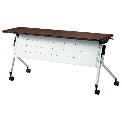 PLUS(プラス)オフィス家具 Linello 2 フォールディングテーブル 幕板付 W(幅)1500 D(奥行き)450 H(高さ)720