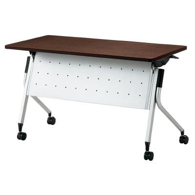 PLUS(プラス)オフィス家具 Linello 2 フォールディングテーブル 幕板付 W(幅)1200 D(奥行き)600 H(高さ)720