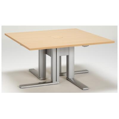 PLUS(プラス)オフィス家具 XF TYPE-L スクエアテーブル W(幅)1400 D(奥行き)1400 H(高さ)720