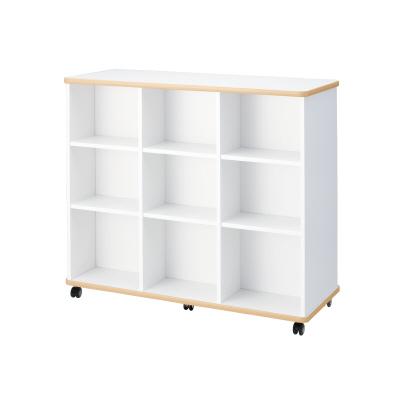 PLUS(プラス)オフィス家具 E5シリーズ 収納 本棚 W(幅)1200 D(奥行き)480 H(高さ)1050