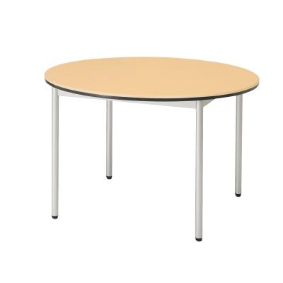 PLUS(プラス)オフィス家具 テーブル EB 丸形 W(幅)1000 D(奥行き)1000 H(高さ)640
