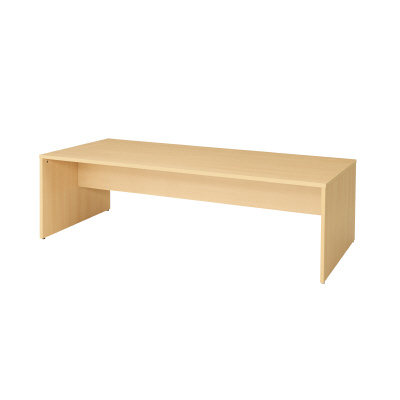 PLUS(プラス)オフィス家具 木製閲覧テーブル W(幅)2100 D(奥行き)900 H(高さ)640