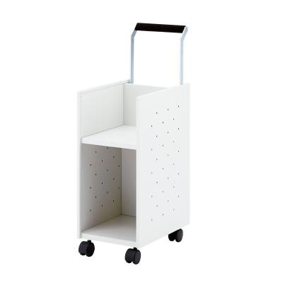 PLUS(プラス)オフィス家具 オフィスカート 移動用ワゴン W(幅)262 D(奥行き)440 H(高さ)635