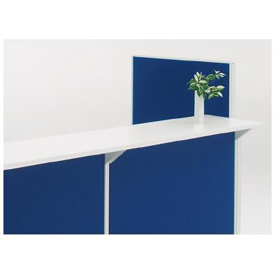 PLUS(プラス)オフィス家具 KIパネル カウンター天板(受け金具付) 外形寸法 D 450mm W(幅) D(奥行き) H(高さ)
