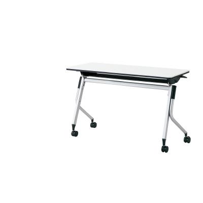PLUS(プラス)オフィス家具 Linello 2 フォールディングテーブル H700mmタイプ 幕板なし W(幅)1200 D(奥行き)450 H(高さ)700
