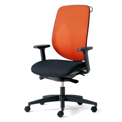 PLUS(プラス)オフィス家具 giroflex 353 ハンガー付 肘付 樹脂脚 W(幅) D(奥行き)642 H(高さ)