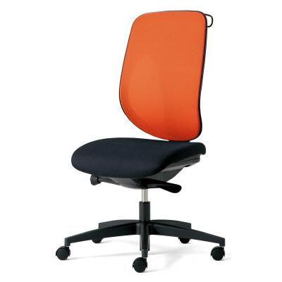 PLUS(プラス)オフィス家具 giroflex 353 ハンガー付 肘なし 樹脂脚 W(幅)674 D(奥行き)642 H(高さ)
