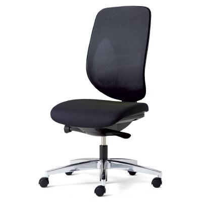PLUS(プラス)オフィス家具 giroflex 353 ハンガーなし 肘なし アルミ脚 W(幅)674 D(奥行き)642 H(高さ)