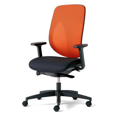 PLUS(プラス)オフィス家具 giroflex 353 ハンガーなし 肘付 樹脂脚 W(幅) D(奥行き)642 H(高さ)