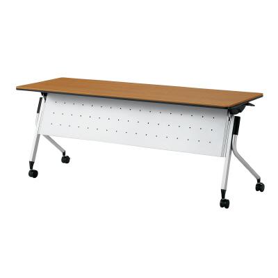 PLUS(プラス)オフィス家具 Linello 2 フォールディングテーブル H700mmタイプ 幕板付 W(幅)1800 D(奥行き)600 H(高さ)700