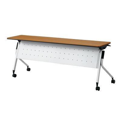 PLUS(プラス)オフィス家具 Linello 2 フォールディングテーブル H700mmタイプ 幕板付 W(幅)1800 D(奥行き)450 H(高さ)700