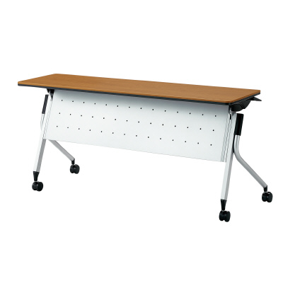 PLUS(プラス)オフィス家具 Linello 2 フォールディングテーブル H700mmタイプ 幕板付 W(幅)1500 D(奥行き)450 H(高さ)700
