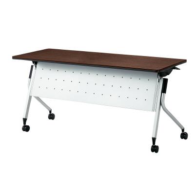 PLUS(プラス)オフィス家具 Linello 2 フォールディングテーブル H700mmタイプ 幕板付 W(幅)1500 D(奥行き)600 H(高さ)700