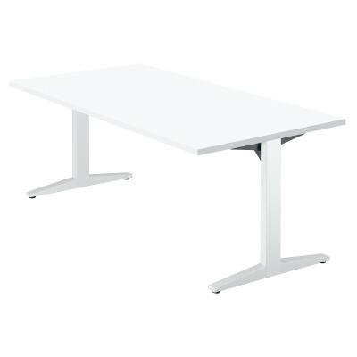 PLUS(プラス)オフィス家具 STAGEO テーブル(長方形) W(幅)1800 D(奥行き)900 H(高さ)720