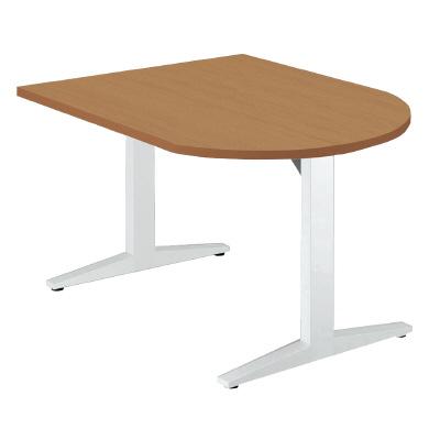 PLUS(プラス)オフィス家具 STAGEO テーブル(長U形) W(幅)1200 D(奥行き)800 H(高さ)720