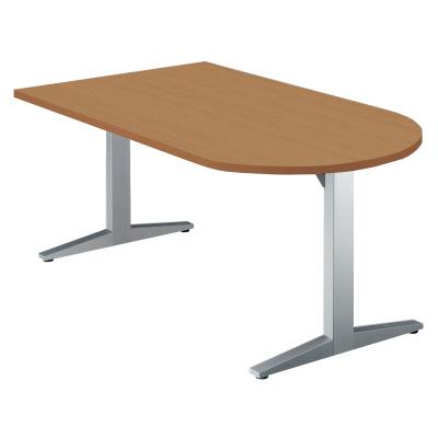 PLUS(プラス)オフィス家具 STAGEO テーブル(長U形) W(幅)1600 D(奥行き)750 H(高さ)720