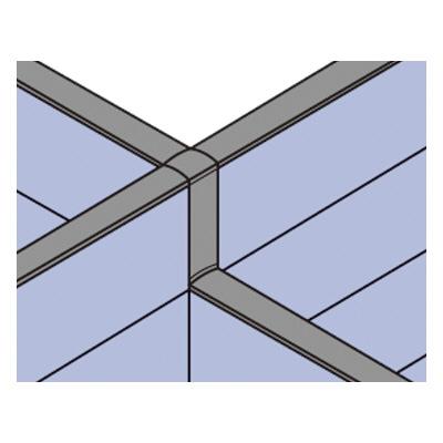 PLUS(プラス)オフィス家具 LFパネル 段差連結部材(1段階段差用) D60十字用×1 W(幅) D(奥行き)60 H(高さ)
