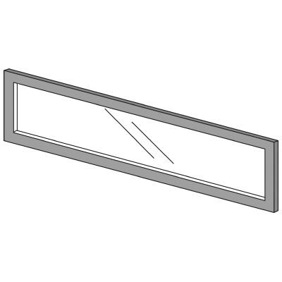 PLUS(プラス)オフィス家具 LFパネル ガラスパネル(透明)D10 H300 W(幅)1100 D(奥行き)10 H(高さ)300