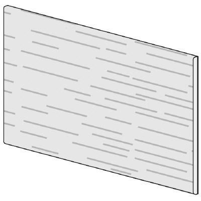 PLUS(プラス)オフィス家具 LFパネル(木質) H600 W(幅)800 D(奥行き)10 H(高さ)600