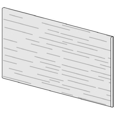 PLUS(プラス)オフィス家具 LFパネル(木質) H600 W(幅)900 D(奥行き)10 H(高さ)600