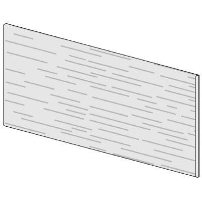 PLUS(プラス)オフィス家具 LFパネル(木質) H600 W(幅)1100 D(奥行き)10 H(高さ)600