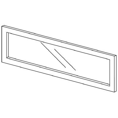 PLUS(プラス)オフィス家具 LFパネル(ガラス) H300 W(幅)900 D(奥行き)10 H(高さ)300