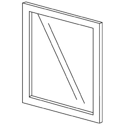 PLUS(プラス)オフィス家具 LFパネル(ガラス) H600 W(幅)450 D(奥行き)10 H(高さ)600