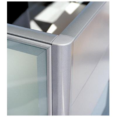 PLUS(プラス)オフィス家具 LFパネル 高さ同位置用連結部材 D60L字用 W(幅) D(奥行き)60 H(高さ)1025