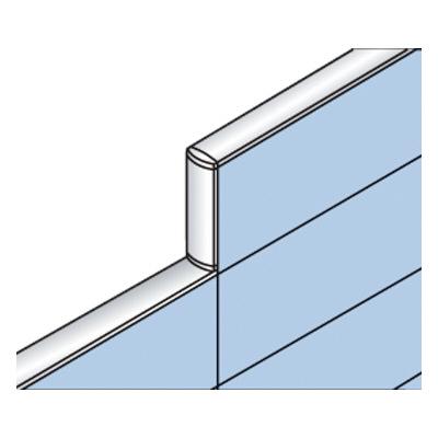 PLUS(プラス)オフィス家具 LFパネル 段差連結部材(1段階段差用) D60直連結 W(幅) D(奥行き)60 H(高さ)