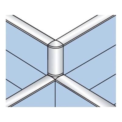 PLUS(プラス)オフィス家具 LFパネル 段差連結部材(1段階段差用) D60十字用×3 W(幅) D(奥行き)60 H(高さ)