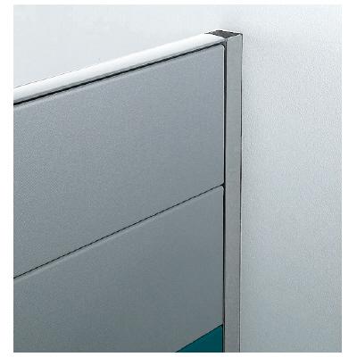 PLUS(プラス)オフィス家具 LFパネル 壁固定レール W(幅) D(奥行き)65 H(高さ)1325
