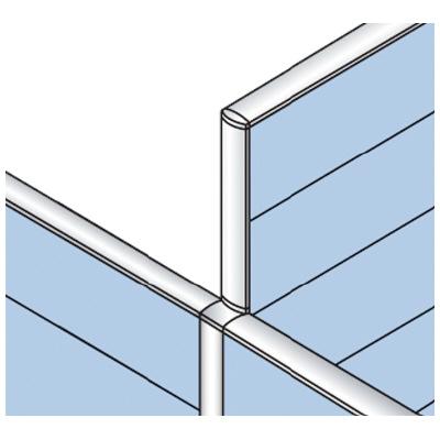 PLUS(プラス)オフィス家具 LFパネル 段差連結部材(2段階段差用) D60T字用T2 W(幅) D(奥行き)60 H(高さ)