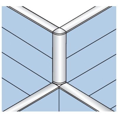 PLUS(プラス)オフィス家具 LFパネル 段差連結部材(2段階段差用) D60十字用×3 W(幅) D(奥行き)60 H(高さ)