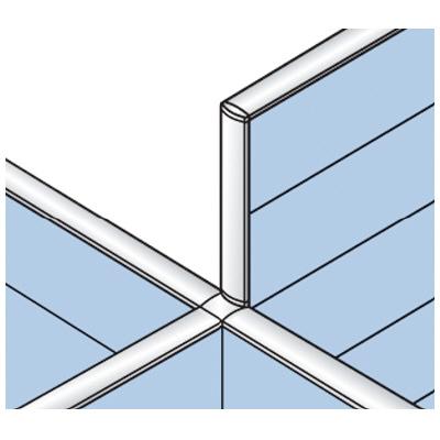 PLUS(プラス)オフィス家具 LFパネル 段差連結部材(2段階段差用) D60十字用×4 W(幅) D(奥行き)60 H(高さ)