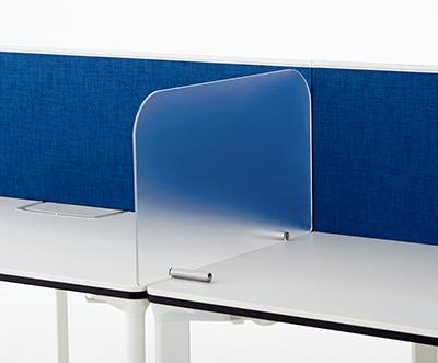 PLUS(プラス)オフィス家具 ピクスタ サイドスクリーン W(幅)600 D(奥行き)5 H(高さ)350