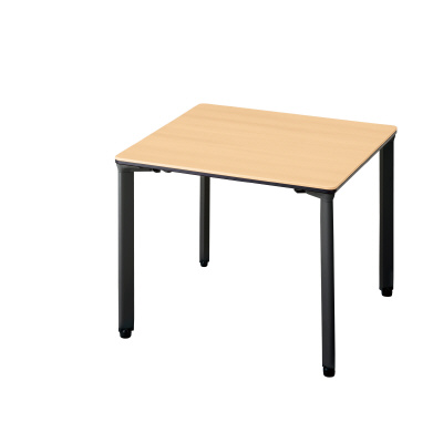 PLUS(プラス)オフィス家具 ピクスタ アジャスター脚 カフェタイプ(スクエアタイプ) W(幅)800 D(奥行き)800 H(高さ)720