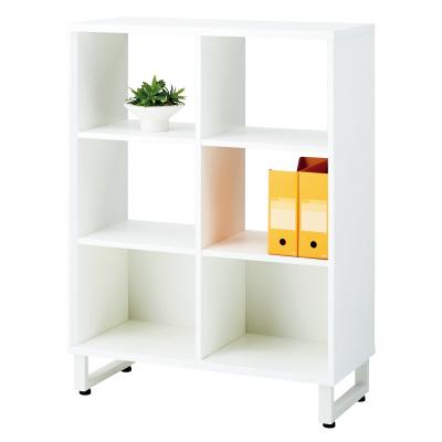 PLUS(プラス)オフィス家具 SQ オープンストレージ 対面用 W(幅)900 D(奥行き)400 H(高さ)1200