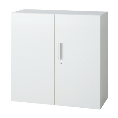 PLUS(プラス)オフィス家具 L6 両開き保管庫 W(幅)900 D(奥行き)500 H(高さ)890