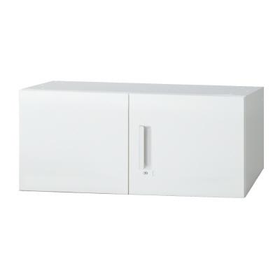 PLUS(プラス)オフィス家具 L6 両開き保管庫 W(幅)900 D(奥行き)450 H(高さ)400