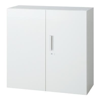 PLUS(プラス)オフィス家具 L6 両開き保管庫 W(幅)900 D(奥行き)400 H(高さ)890